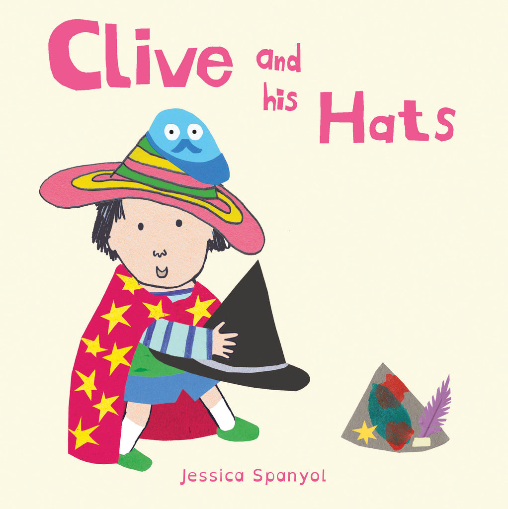 Clive And His Hats Board Book