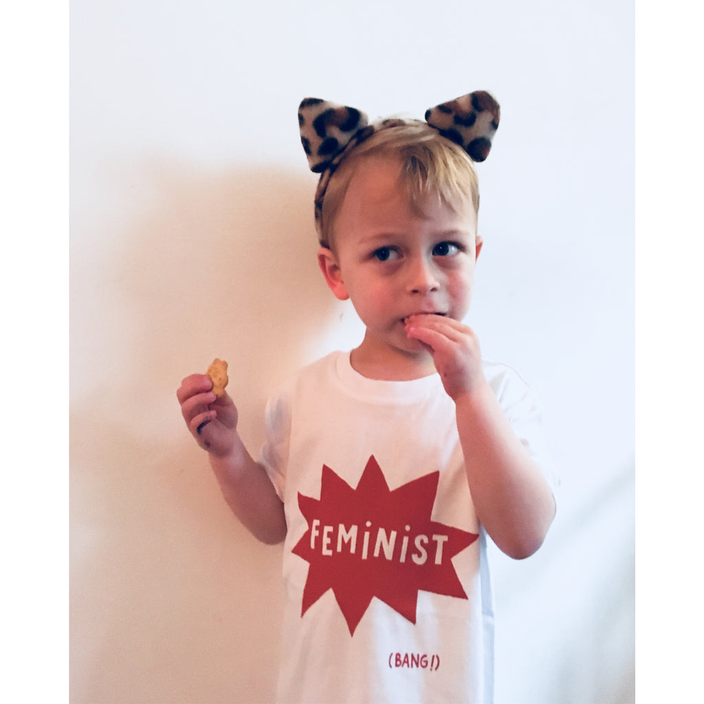 Feminist T-shirt by Mimi & Will