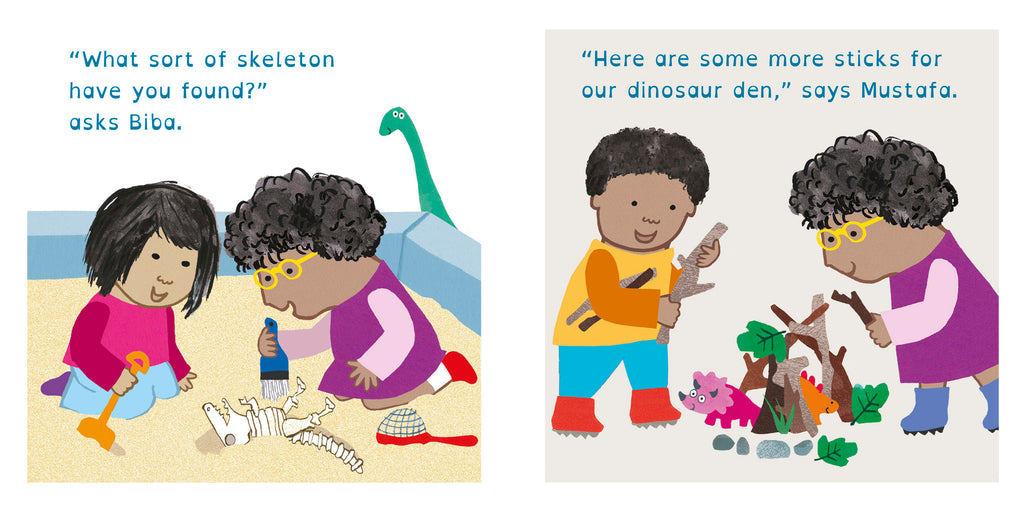 Rosa Loves Dinosaurs Board Book