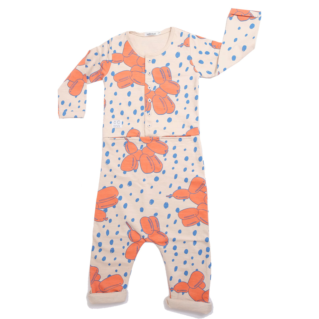 Balloon Dog Playsuit by Indikidual