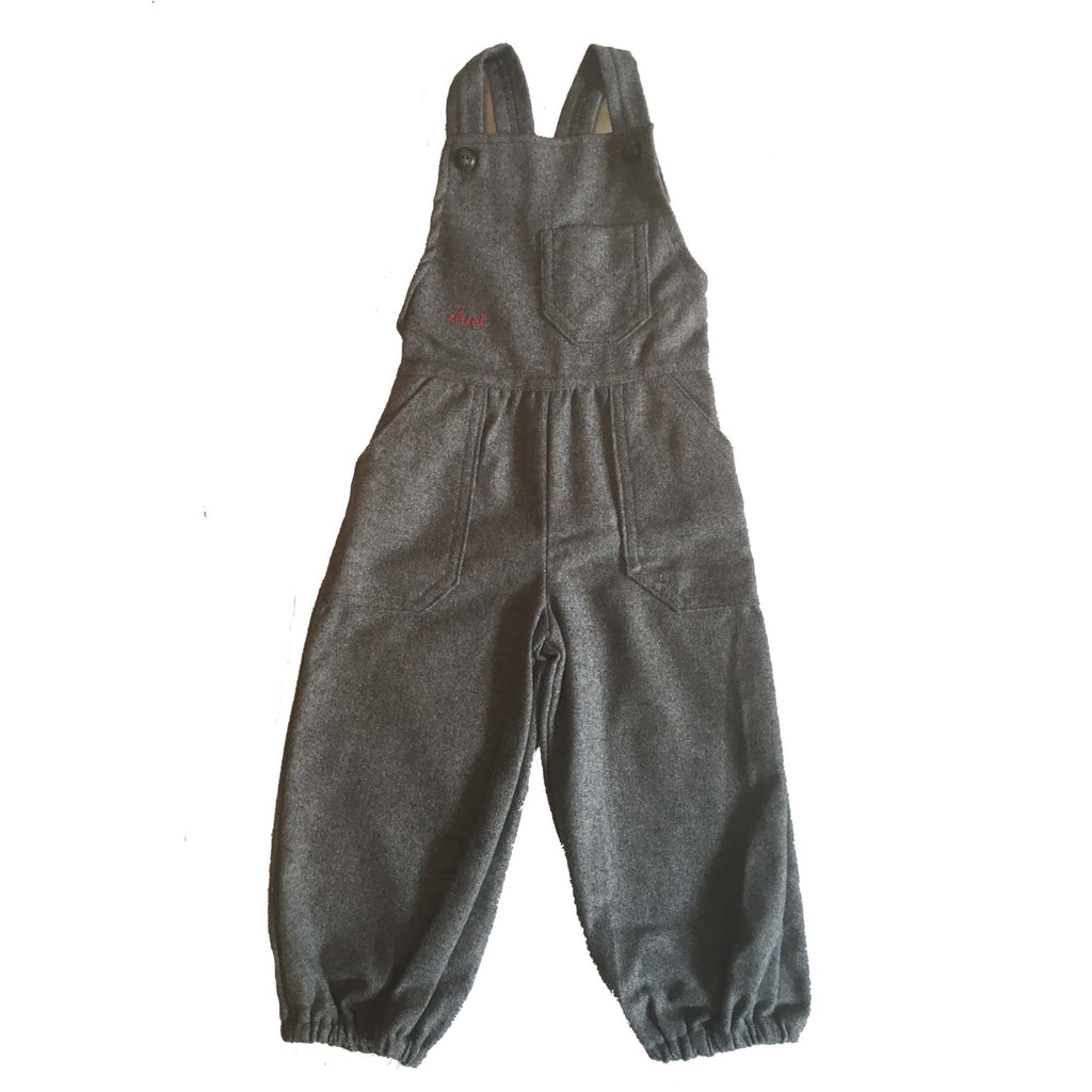 Wool Mix Dungarees - Age 1 Year