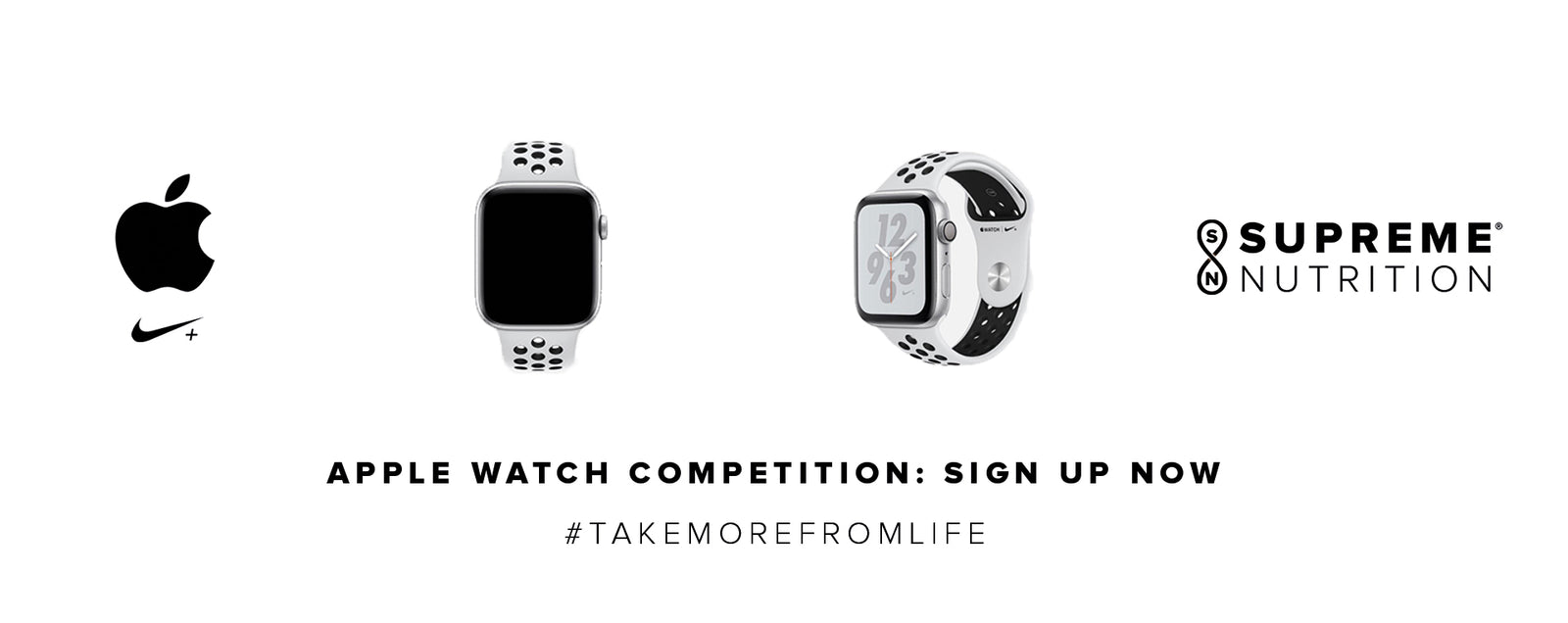 APPLE NIKE + WATCH COMPETITION