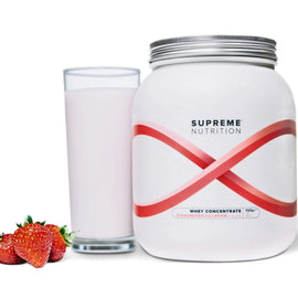 Supreme Whey Protein Concentrate - Strawberries & Cream