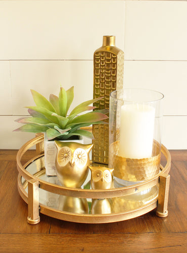 Gold Glam Tray