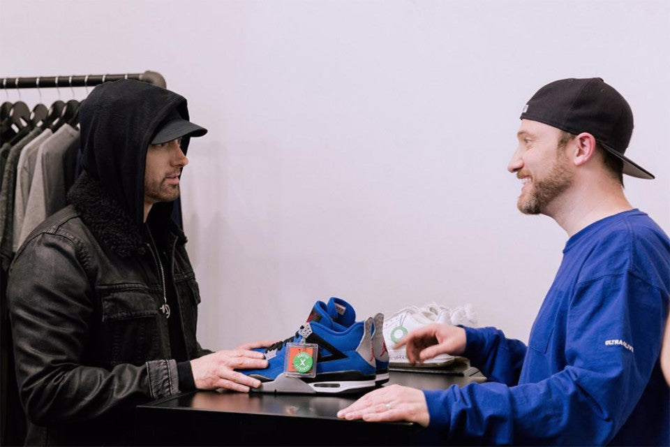 "Eminem Is Teasing a New ""Encore"" Air Jordan IV - Cape Kickz"