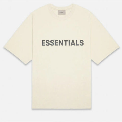 FEAR OF GOD ESSENTIALS Short Sleeve T-Shirt-Cream