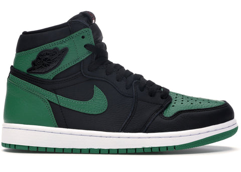 Jordan 1 Retro High Pine Green- Grade School