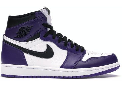 Jordan 1 Retro High Court Purple- Grade School