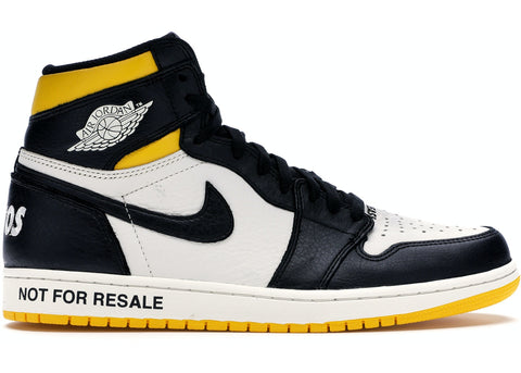 "Jordan 1 Retro High ""Not for Resale"" Varsity Maize"