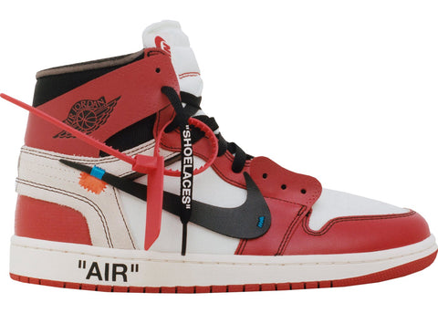 Jordan 1 Retro High Off-White Chicago - Cape Kickz