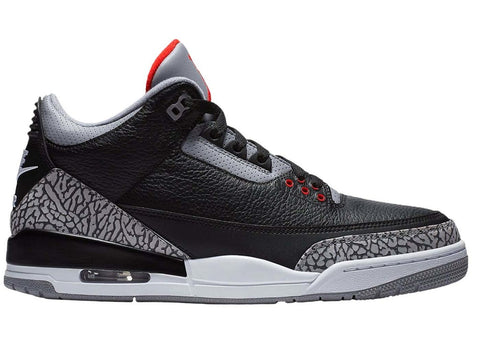 Jordan 3 Retro Black Cement (2018) - Cape Kickz
