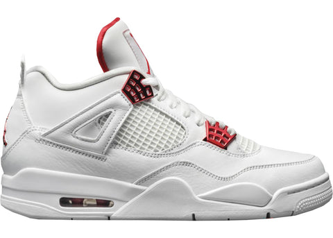 Jordan 4 Retro Metallic Red- Grade School