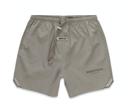 FEAR OF GOD ESSENTIALS Volley Shorts Cement