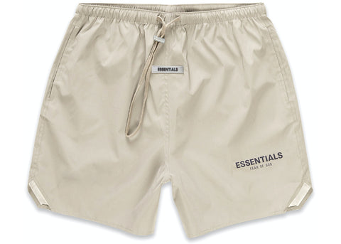 FEAR OF GOD ESSENTIALS Volley Shorts Olive