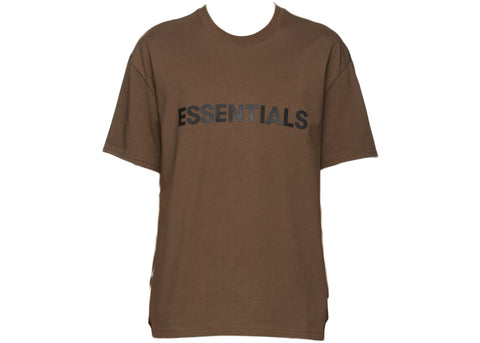 FEAR OF GOD ESSENTIALS Short Sleeve T-Shirt-Brown