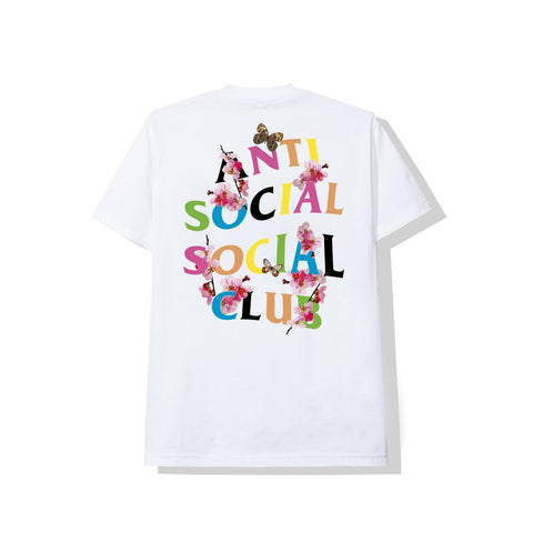 ANTI SOCIAL SOCIAL CLUB: Frantic White Tee
