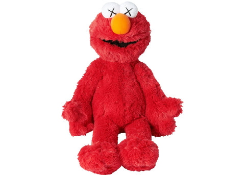 KAWS x Uniqlo Sesame Street Plush Toy Elmo