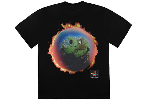 Travis Scott-The Scotts World Black T-Shirt