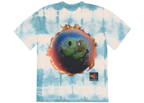 Travis Scott-The Scotts World Tie-Dye T-Shirt