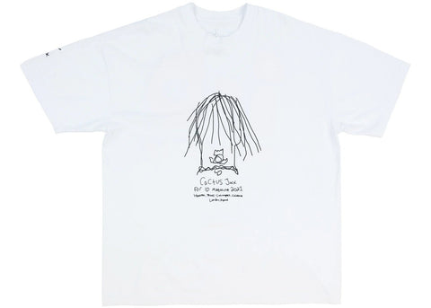 Travis Scott The Utopia Issue Tee White