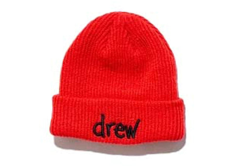 Drew House Beanie Red