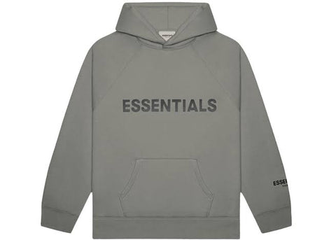 FEAR OF GOD ESSENTIALS Hoodie-Charcoal