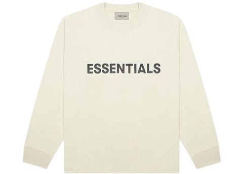 FEAR OF GOD ESSENTIALS Long Sleeve T-Shirt-Cream