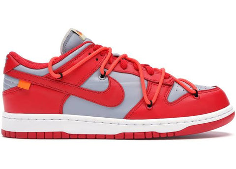 Nike Dunk Low Off- White University Red