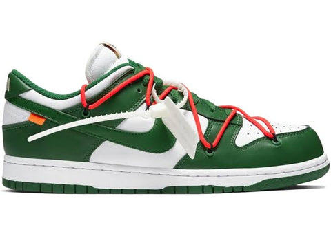 Nike Dunk Low Off- White Pine Green