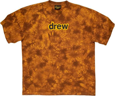 Drew House Secret SS Tee Brown Tie Dye