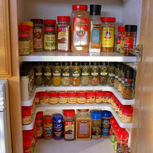 Adjustable Cabinet Spice Rack