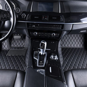 Diamond Stitched Floor Mat