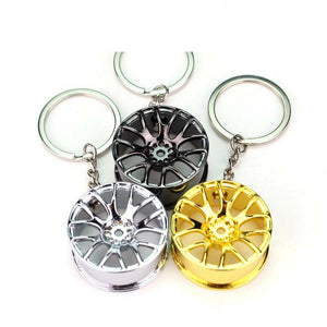 Shiny Rim Key Chain