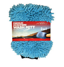 Microfiber Wash Mitt - 3 Pack