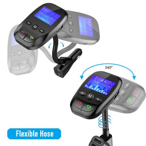 Bluetooth FM Transmitter (AUX Alternative)