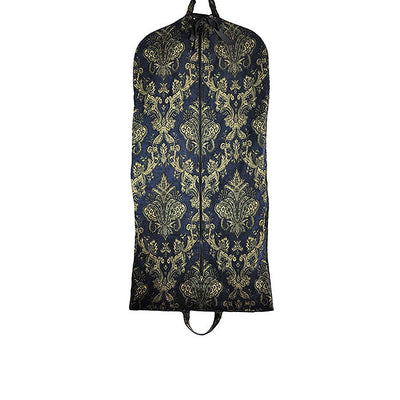 Modern Garment Bag - Blue & Yellow