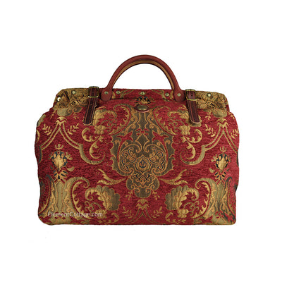 Large Victorian Traveler Carpetbag - Queen Anne