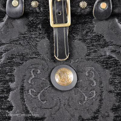 Small Victorian Traveler Handbag - Bonnie Prince (Close up)