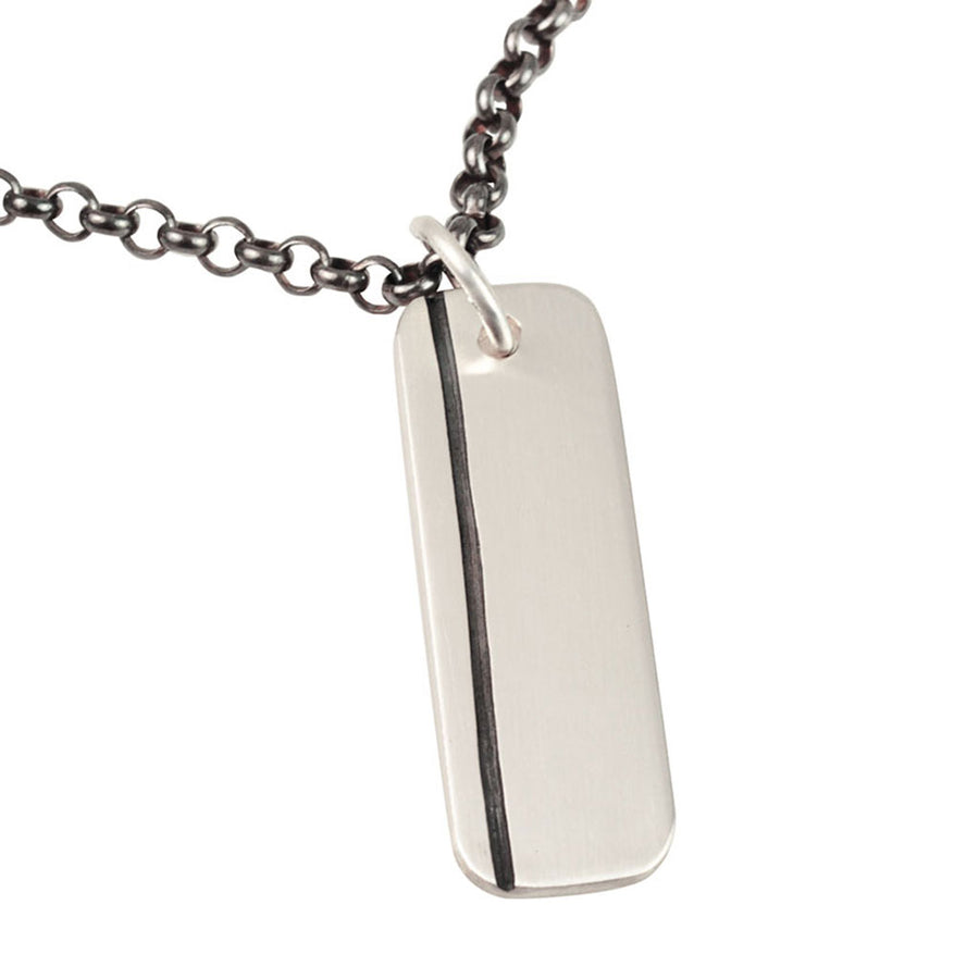 Lineage Men's Single Line Necklace