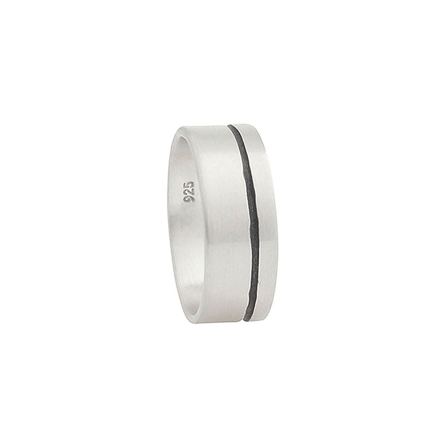 Lineage Men's Single Line Ring