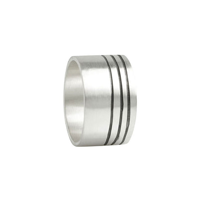 Men's Lineage Triple Line Ring