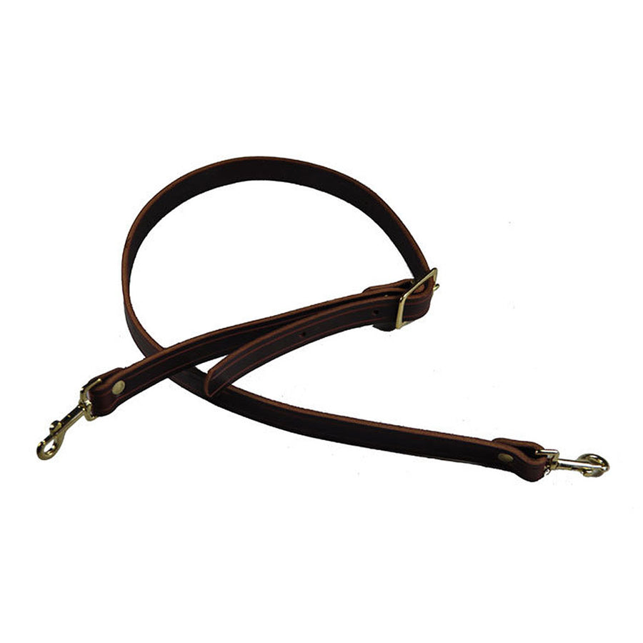 Carpetbag Leather Shoulder Strap