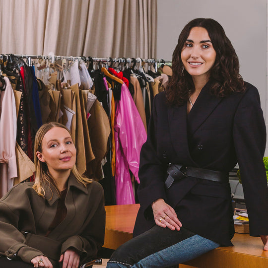 Meet Paris Mitchell Temple and Georgia Cherrie of New Zealand womenswear label, Paris Georgia.
