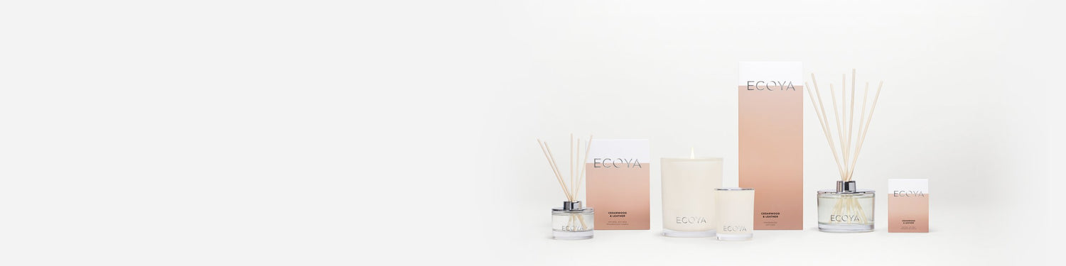 Jono Fleming's Favourite ECOYA Fragrances