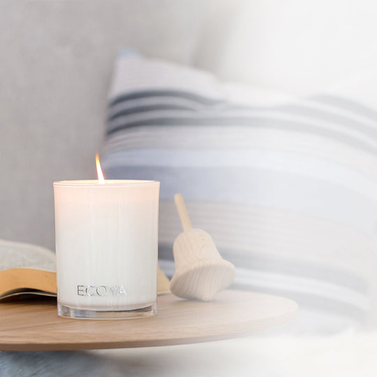 If you're burning more than one candle at a time, leave at least 100mm (10cm) between candles.  <br><br> Burn your ECOYA candle for a minimum of an hour, this will prevent tunnelling (ECOYA candles are made from natural soy wax, which does retain a memory). So ensure your wax pool reaches the edge of the glass on each burn.