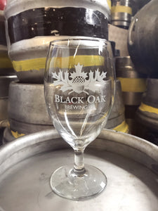 Black Oak Venise Glass