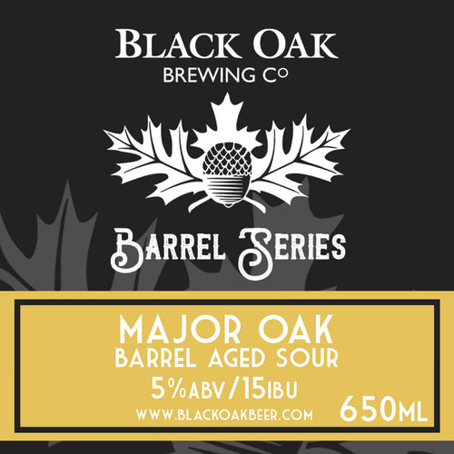 Major Oak Barrel Aged Sour