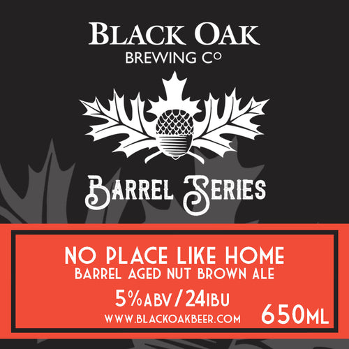No Place Like Home Barrel Aged Nut Brown Ale