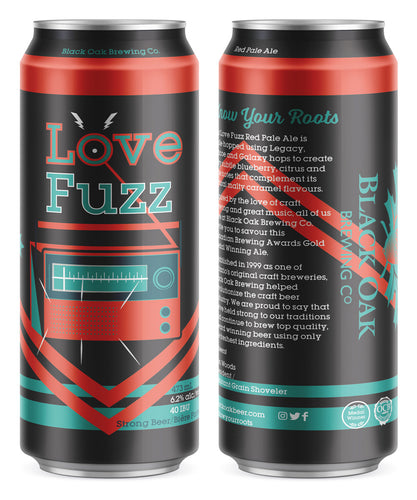Love Fuzz Red Pale Ale