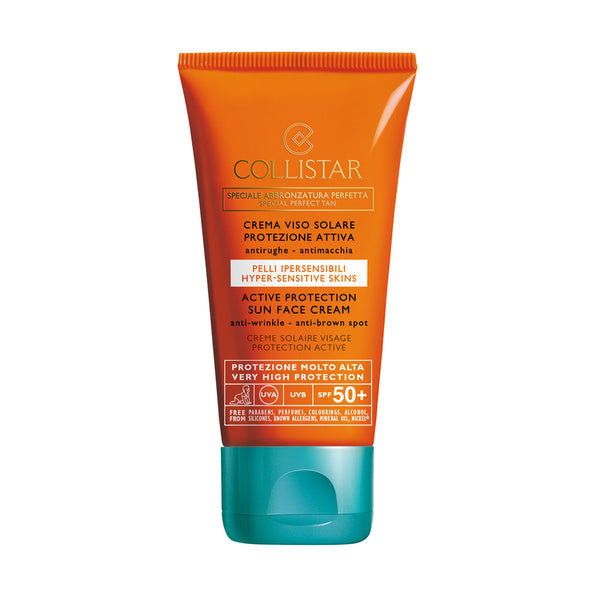 Collistar Protection Sun Face Cream Anti Wrinkle